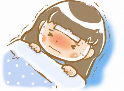 風邪,微熱